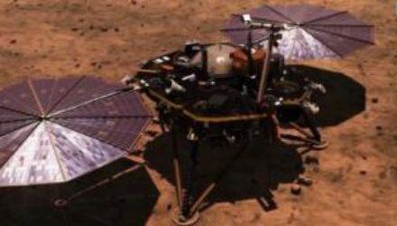 NASA представило видео приземления миссии InSight на Марс