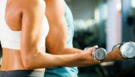 Гантели: упражнения с весом