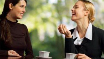 Как правильно себя вести во время беседы