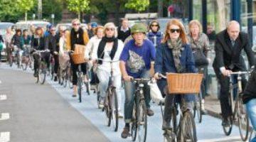 Названы лучшие в мире города для велосипедистов