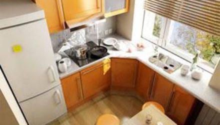 Какую мебель выбрать для маленькой кухни